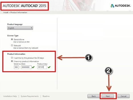 autocad 2015 serial number product key 1
