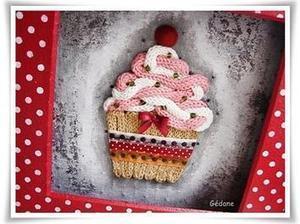 Créer un tableau #cupcake au tricotin, un tutorial délicieux #yummy #DIY #idée #déco | Best of coin des bricoleurs | Scoop.it