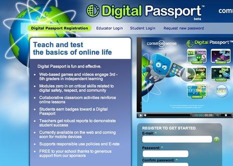 Digital Passport Registration | Digital Passport | Digital Literacy - tips & tricks | Scoop.it