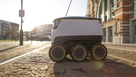 Postmates and Doordash are about to start using Robots for Deliveries | Technology in Business Today | Scoop.it