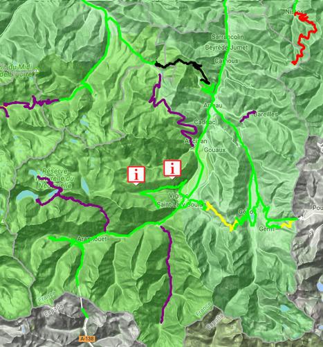 Conditions de circulation routière en Aure & Louron le 20 janvier (11:29) - InfoRoute65 | Vallée d'Aure - Pyrénées | Scoop.it