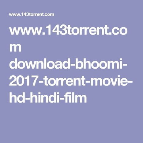 run bhuumi part 1 in hindi dubbed torrent downl