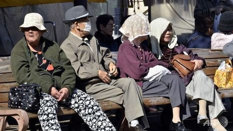 Japan looks to technology to solve ageing population woes - Channel News Asia | Geography is my World | Scoop.it