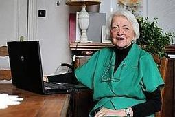 Monique Collard, blogueuse à l'âge de 80 ans | Cyber Seniors & Cie | Scoop.it
