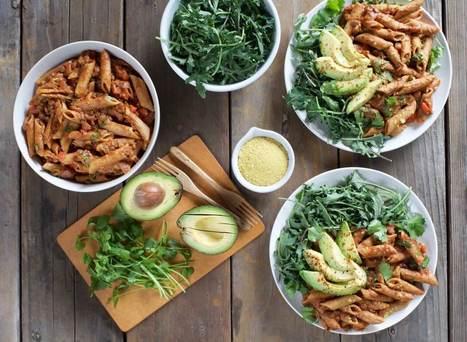 Lentil Enchilada Pasta - Plant-Based Vegan Recipe | Vegan Food | Scoop.it