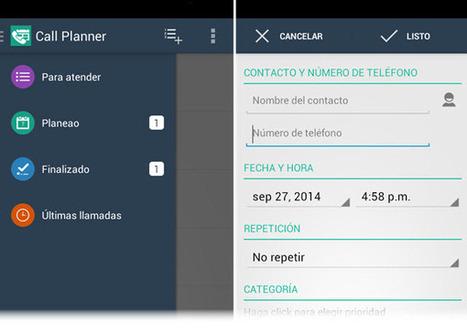 Call Planner, para programar y dar seguimiento a las llamadas telefónicas desde Android   De Zapping por las TIC   Scoop.it