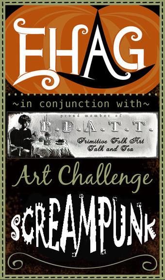 EHAG * PFATT SCREAMpunk Challenge!... | Halloween | Scoop.it