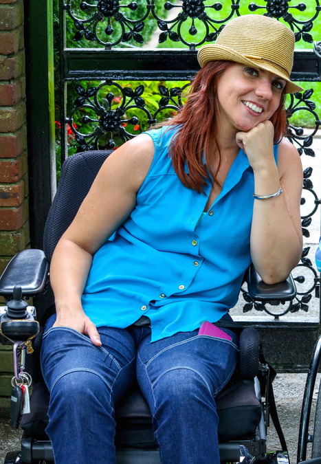 Paralyzed designer creates jeans for women in wheelchairs | Home Business | Scoop.it