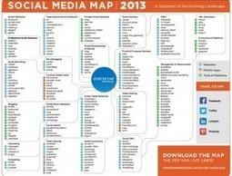 La mappa dei Social Media per il Social Media Marketing del 2013 | Social Media War | Scoop.it