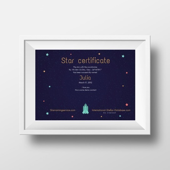 Get This Name A Star Gift UK for Your Loved One At Star Naming Service UK.
