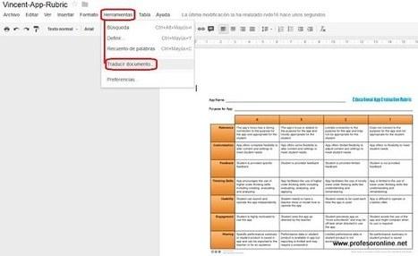 Blog de Gerardo Chunga Chinguel: #Traduce tus #PDF utilizando #GoogleDrive y #GoogleTranslator | compartir conocimiento y trabajo colaborativo | Scoop.it