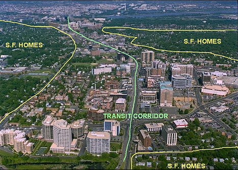 New data show how transit corridors reduce traffic, increase walking | Kaid Benfield's Blog | Switchboard, from NRDC | green streets | Scoop.it