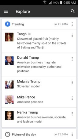 Android app now offers new ways to browse Wikipedia and find trending, recommended articles | La red y lo social | Scoop.it