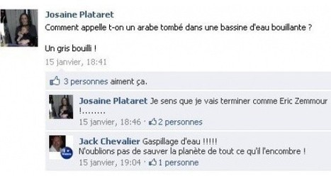 Une candidate UMP suspendue pour des blagues racistes sur Facebook | Exemples à ne pas suivre sur les réseaux sociaux | Scoop.it