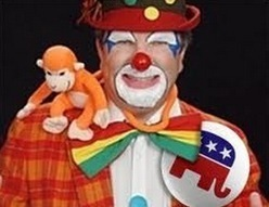 The GOP Clown Car Crashes, Again | Conservative Liberty and Freedom is nothing but an empty box wrapped in the flag that helps no one. The land of the free for only those fit to survive, the rest can and should perish for the benefit of the strong | Scoop.it