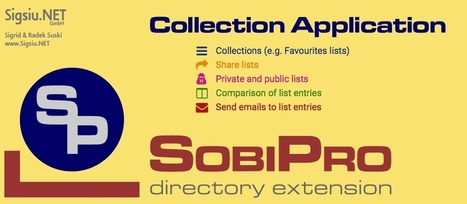 Collection - Applications - Sigsiu.NET GmbH | SobiPro - The Joomla! Directory Extension | Scoop.it