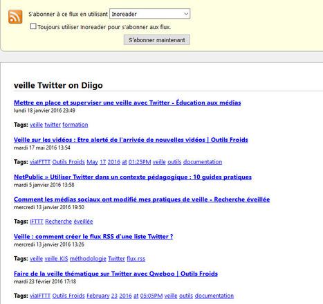 Diigo : surveiller via RSS un ou plusieurs tags dans l'ensemble de la base   Identité numérique, E-Réputation   Scoop.it