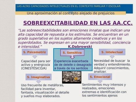 ALTA SENSIBILIDAD Y SOBREDOTACIÓN INTELECTUAL « HeC Centro de Psicología | Altas Capacidades Intelectuales | Scoop.it