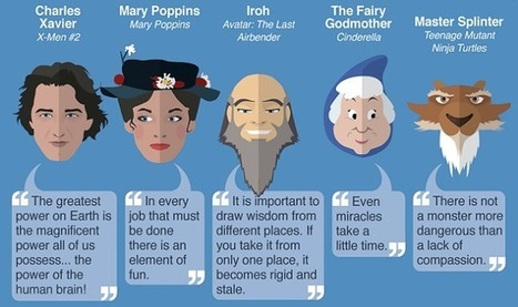 30 Inspirational Quotes from Fictional Teachers and Mentors #Infographic | e-duco | Scoop.it