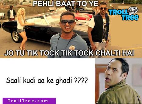 Honey Singh Trolled By Binnu Dhillon Funny Punjabi Troll Picture Trolltree