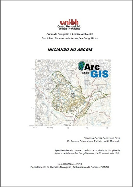 Apostila: Iniciando no ArcGIS | ArcGIS-Brasil | Scoop.it