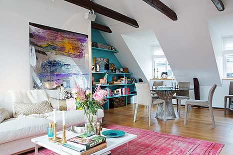 Cozy Atmosphere Recreated in a Three Bedroom Loft in Stockholm | Design | News, E-learning, Architecture of the future at news.arcilook.com | Architecture news | Scoop.it