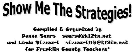 Show Me the Strategies | Common Core State Standards in Education | Scoop.it