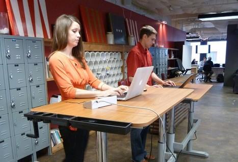 Standing desks boost productivity, not just health, study finds | Indoor Rowing | Scoop.it