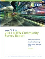 Report Release: The 2011 NTEN Community Survey Report | Chambers, Chamber Members, and Social Media | Scoop.it