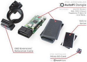 Raspberry Pi based OBD-II dongle connects your