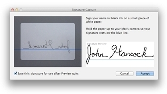 Sign your PDFs electronically using Preview | Macworld | All Things Mac | Scoop.it