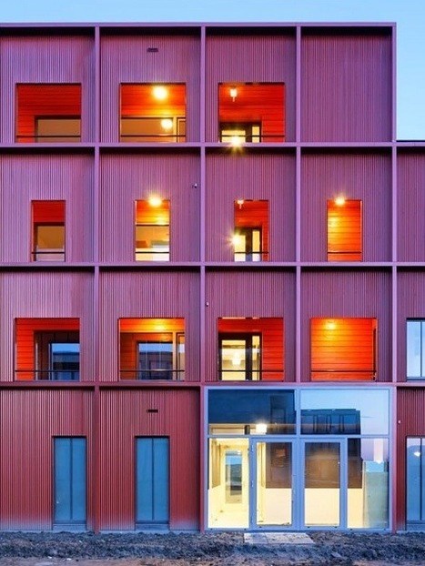 Quay Apartments by Kingma Roorda Architects - bvs | Container Architecture | Scoop.it