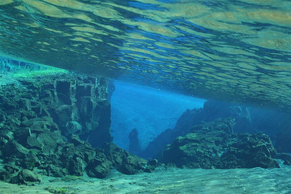 Scuba Diving Between Tectonic Plates in Iceland   Coldwater Scuba Diving   Scoop.it