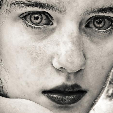 Black & White Portrait Photography by David Terrazas | Art, photography, design, tech, culture & fashion | Scoop.it