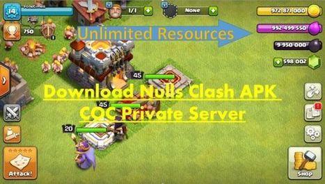 Null's Clash Coc Private Server Update La