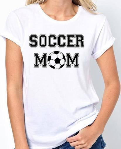 Soccer Mom T Shirt Be a proud momma at your k