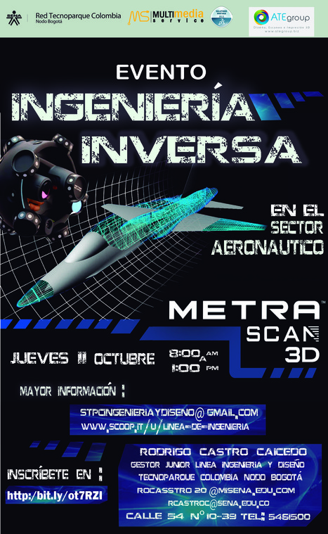 Evento Ingeniería Inversa en el sector Aeronáutico | Ingeniería & Diseño | Scoop.it