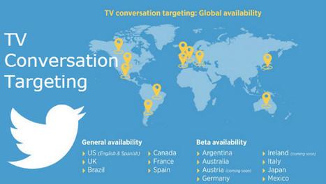 Twitter lance officiellement TV conversation targeting en France | Culture digitale | Scoop.it