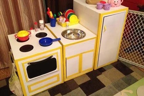 Cardboard Kitchen   Crafts for Kids   PBS Parents   Avant-garde Art, Design & Rock 'n' Roll   Scoop.it