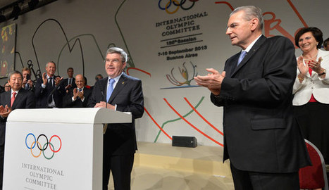 Thomas Bach elected new IOC President | OlympicGames2020 | Scoop.it