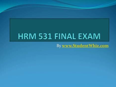 hrm final