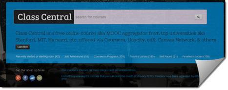 Class Central, una nueva opción para buscar cursos online | Educación a Distancia y TIC | Scoop.it