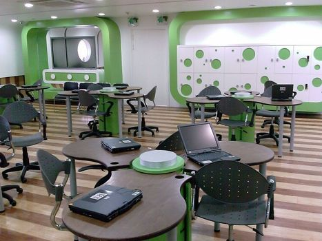 Why Schools Need Collaborative Learning Spaces | Transliteracy & eLearning | Scoop.it