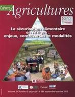 La sécurisation alimentaire en Afrique : enjeux, controverses et modalités - CIRAD | Sécurité sanitaire des aliments | Scoop.it