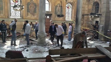 Blast at Cairo cathedral kills at least 25 | The Pulp Ark Gazette | Scoop.it