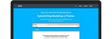 Solid - Multipurpose Theme | Freakinthecage Webdesign Lesetips | Scoop.it