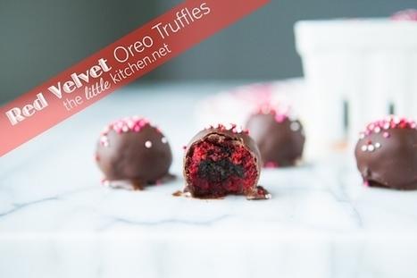 Red Velvet Oreo Truffles Recipe | the little kitchen | À Catanada na Cozinha Magazine | Scoop.it