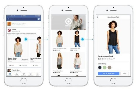 Facebook to Test Single 'Shop' Section | WWD | Social Media Trends & News | Scoop.it