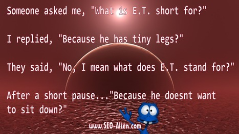 What is E.T. Short For? | Allround Social Media Marketing | Scoop.it