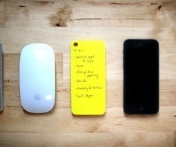 These sticky notes stick to the back of your iPhone. Paper and digital productivity at its finest. | The Search for Intelligent Search | Scoop.it